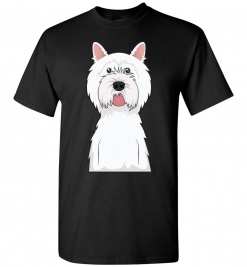 West Highland White Terrier Cartoon T-Shirt