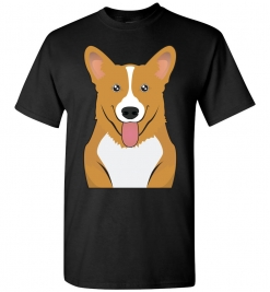 Pembroke Welsh Corgi Cartoon T-Shirt