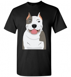 Pit Bull Cartoon T-Shirt