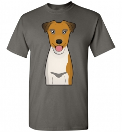 Smooth Fox Terrier Cartoon T-Shirt