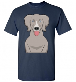 Weimaraner Cartoon T-Shirt