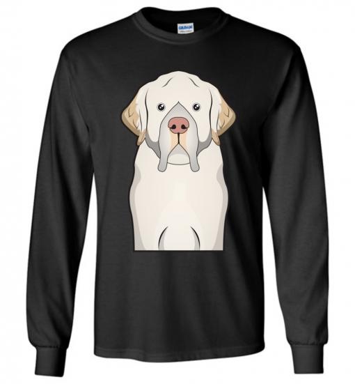 Clumber Spaniel Cartoon T-Shirt