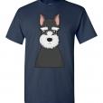 Miniature Schnauzer Cartoon T-Shirt