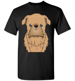 Brussels Griffon Cartoon T-Shirt