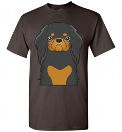 English Toy Spaniel Cartoon T-Shirt