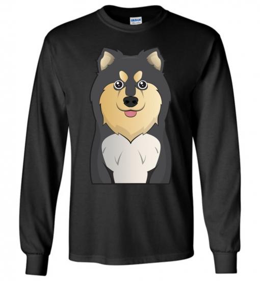 Finnish Lapphund Cartoon T-Shirt