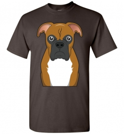 Boxer Cartoon T-Shirt