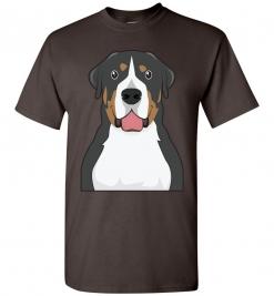 Greater Swiss Mountain Cartoon T-Shirt
