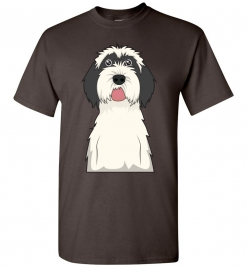 Tibetan Terrier Cartoon T-Shirt