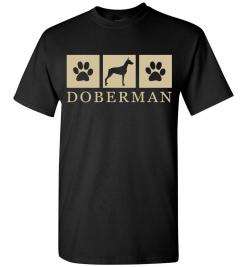 Silhouette Paws - Doberman