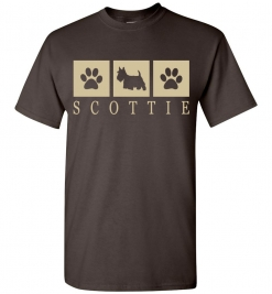 Scottie (Scottish Terrier) T-Shirt / Tee