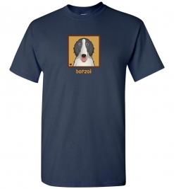 Borzoi Dog T-Shirt / Tee