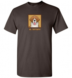 St. Bernard Dog T-Shirt / Tee