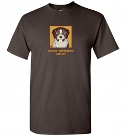 German Wirehaired Pointer Dog T-Shirt / Tee