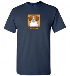 Brittany Spaniel Dog T-Shirt / Tee