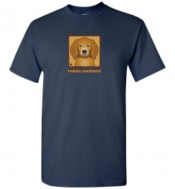 Redtick Coonhound Dog T-Shirt / Tee