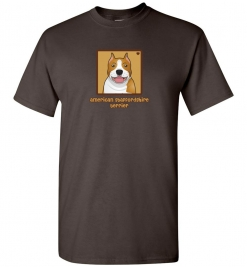 American Staffordshire Terrier Dog T-Shirt / Tee