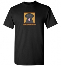Black Labrador Retriever Dog T-Shirt / Tee