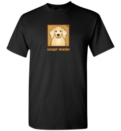 American Cocker Spaniel Dog T-Shirt / Tee