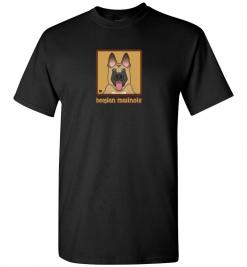 Belgian Malinois Dog T-Shirt / Tee