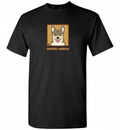 Swedish Vallhund Dog T-Shirt / Tee