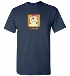 Havanese Dog T-Shirt / Tee