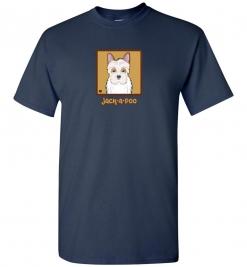 Jack-a-poo Dog T-Shirt / Tee