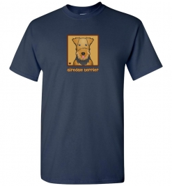 Airedale Terrier Dog T-Shirt / Tee