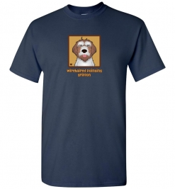 Wirehaired Pointing Griffon Dog T-Shirt / Tee