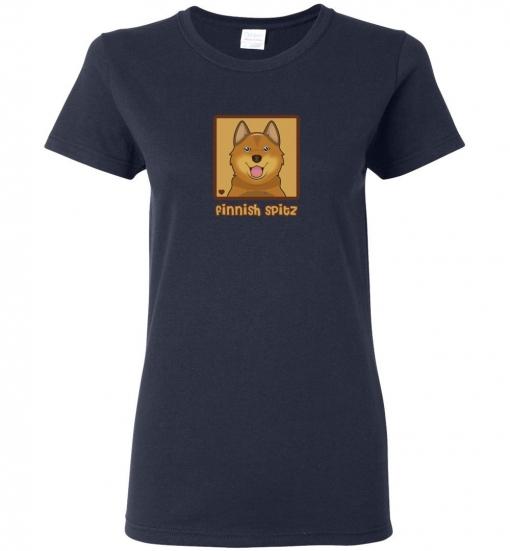 Finnish Spitz Dog T-Shirt / Tee