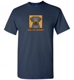 Black & Tan Coonhound Dog T-Shirt / Tee