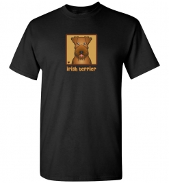 Irish Terrier Dog T-Shirt / Tee