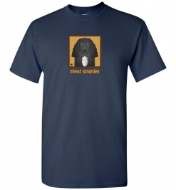 Field Spaniel Dog T-Shirt / Tee