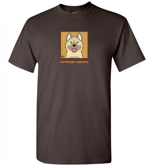 Norwegian Elkhound Dog T-Shirt / Tee