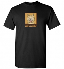 Cairn Terrier Dog T-Shirt / Tee