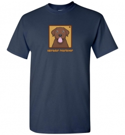 Chocolate Labrador Retriever Dog T-Shirt / Tee