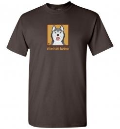 Siberian Husky Dog T-Shirt / Tee