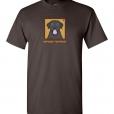 Black Labrador Retriever Dog T-Shirt / Tee