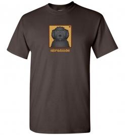 Black Labradoodle Dog T-Shirt / Tee