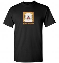 Golden Retriever Dog T-Shirt / Tee