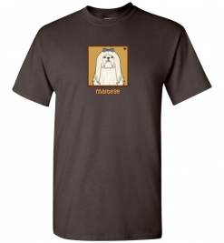 Maltese Dog T-Shirt / Tee