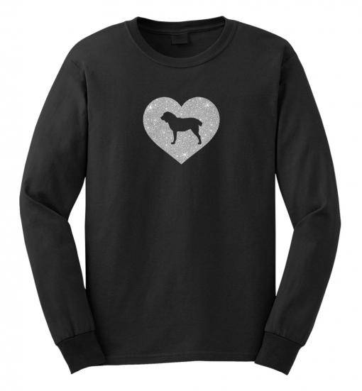 Central Asian Shepherd Dog Glitter T-Shirt