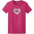 Neapolitan Mastiff Dog Glitter T-Shirt