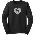 American Water Spaniel Dog Glitter T-Shirt