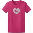 English Cocker Spaniel Dog Glitter T-Shirt