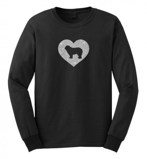 Komondor Dog Glitter T-Shirt