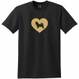 Maltese Dog Glitter T-Shirt