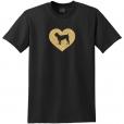 Cane Corso Dog Glitter T-Shirt