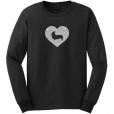 Welsh Corgi Dog Glitter T-Shirt