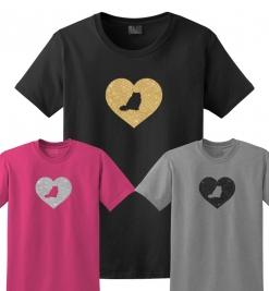 Himalayan Cat Glitter T-Shirt